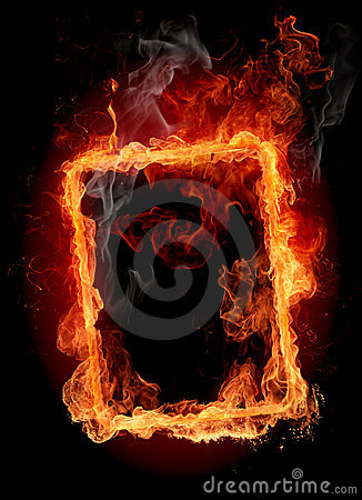 Free Fire Frame Royalty Free Stock Image - 7224506