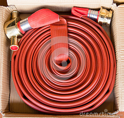 Free Fire Hose Stock Image - 47072381