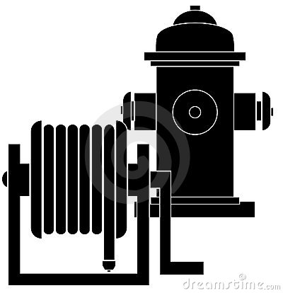 Free Fire Hydrant And Hose Reel Stock Images - 4895154