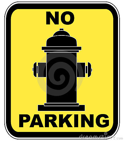 Fire hydrant - no parking