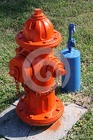 Fire Hydrant and outside water tap