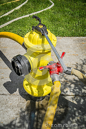 FIre Hydrant in Use