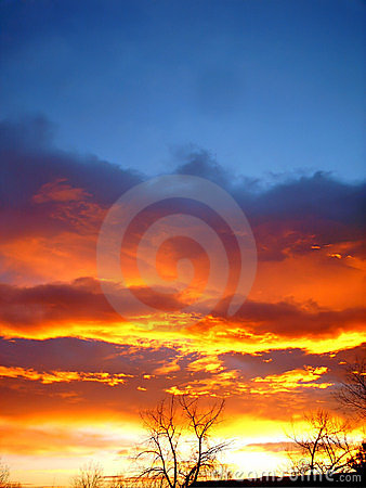 Free Fire In The Sky Stock Images - 49964