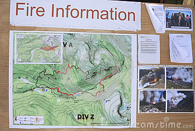 Fire information