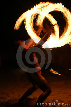 Free Fire Juggler Stock Image - 48341