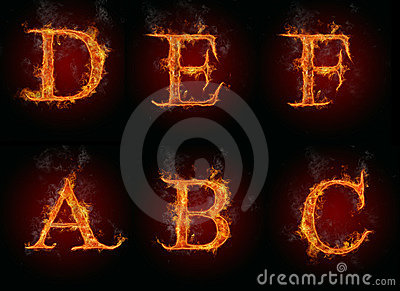 Fire letters