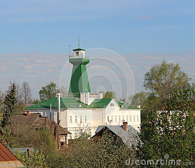 Fire lookout tower. Suzdal.