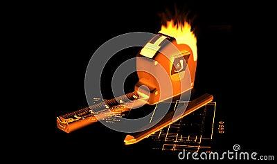 Fire Measing Tape