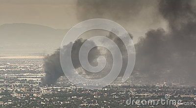 Fire Mexico Editorial Image