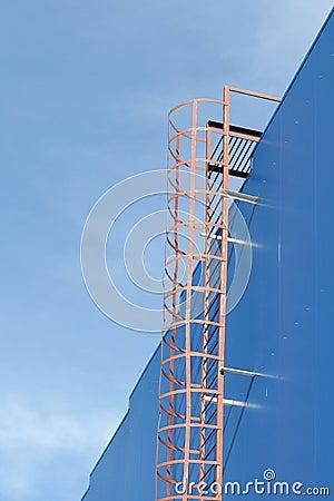 Fire-prevention ladder