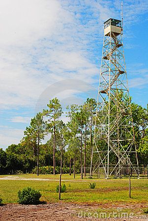 Free Fire Ranger Tower Stock Photography - 20077512