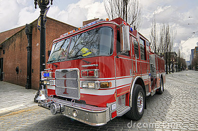 Fire  and Rescue Engine Truck