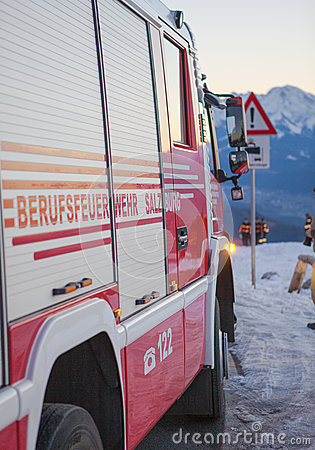 Fire and rescue service in the mountains
