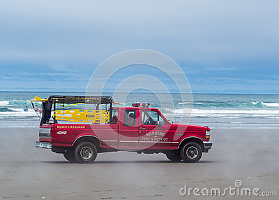 Fire and rescue truck Editorial Stock Image