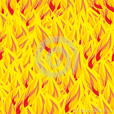 Free Fire Seamless Pattern. Flames Background. Flame Texture. Hot Yel Stock Photo - 77298970