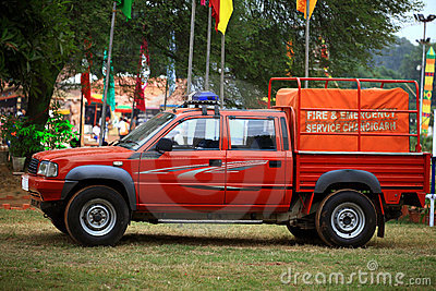 Fire service vehicle Editorial Photography