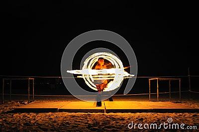Fire Show, Mexico