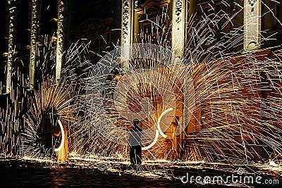 Fire show 20