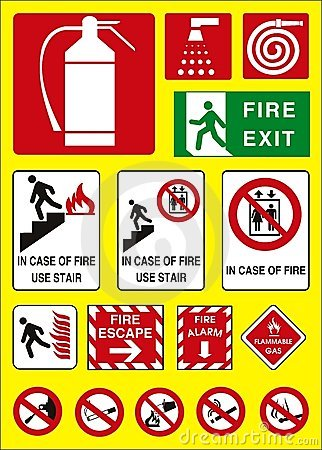 Free Fire Sign Emergency Stock Images - 6920154