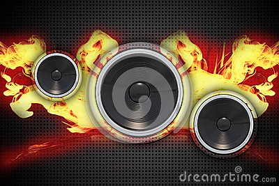 Fire Speakers