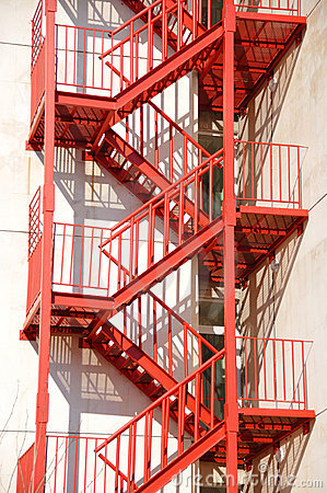Free Fire Stair Royalty Free Stock Photo - 8792045