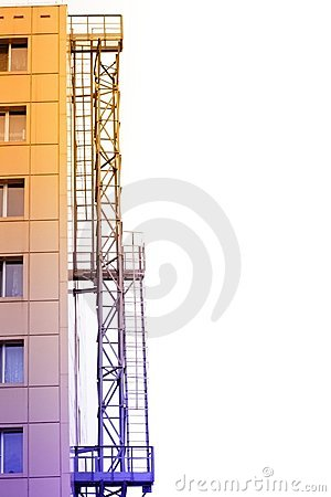 Fire Stairs Stock Photo - Image: 14425270