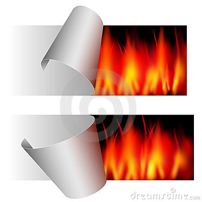 Fire sticker - ale - advertisement