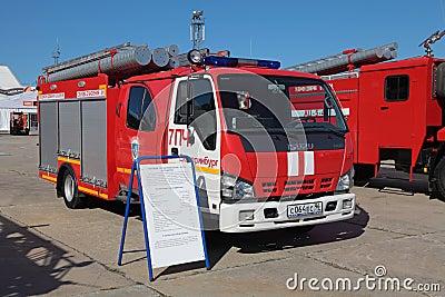 Fire tank truck ISUZU