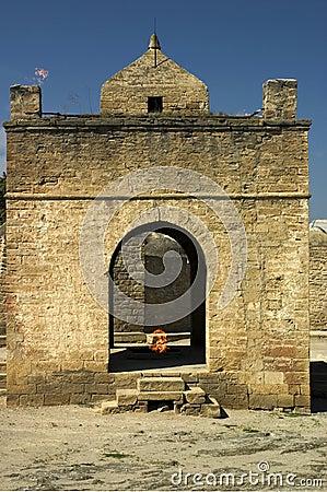 Fire temple.  Surakhany, Azerbaijan.