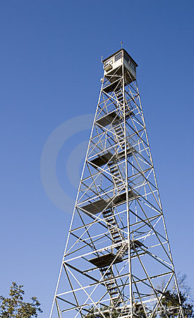Free Fire Tower Stock Photography - 3720042