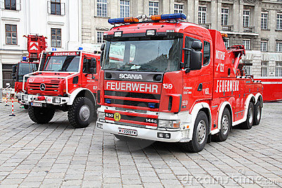 Fire truck Editorial Photography
