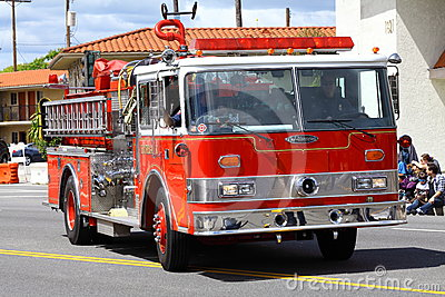 Fire Truck Editorial Stock Image
