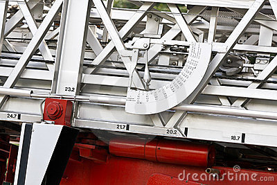 Fire Truck Angle Meter Royalty Free Stock Photography - Image: 23774977