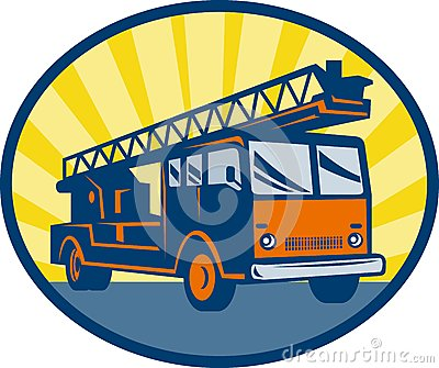 Fire truck engine appliance