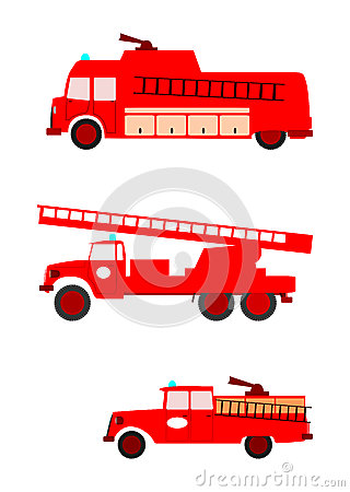 Free Fire Trucks. Stock Images - 29697114