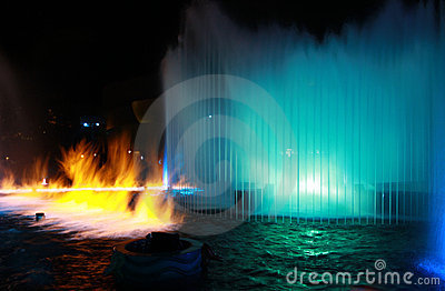 Fire & Water Show