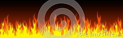 Fire web header / banner