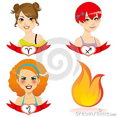 Fire Zodiac Women