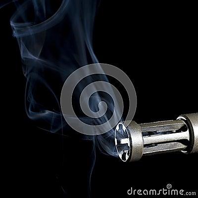 Firearm smoke clearing
