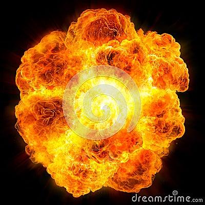 Free Fireball: Explosion Stock Photos - 43948343