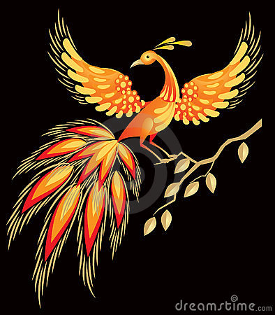 Free Firebird, Russian Fairy Tales Character Stock Images - 20302774