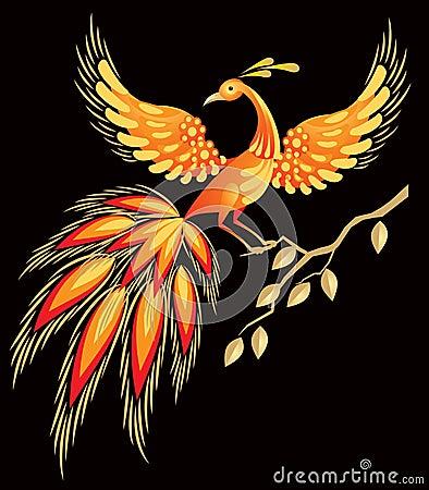 Firebird, Russian fairy tales character