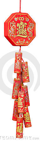 Firecracker of the chinese new year