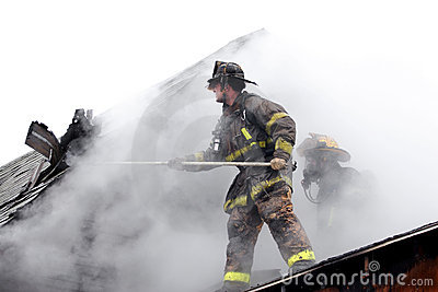 Firefighter Editorial Photography