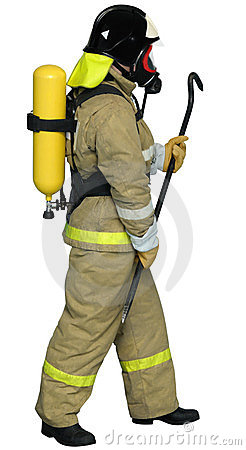 Firefighter breathing apparatus
