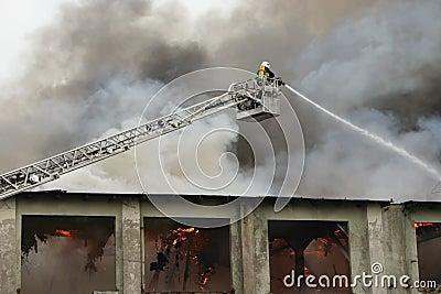 Firefighter on duty #3