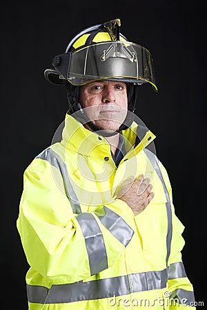 Firefighter - Hand on Heart