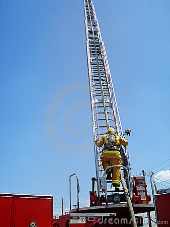 Firefighter Ladder Climb