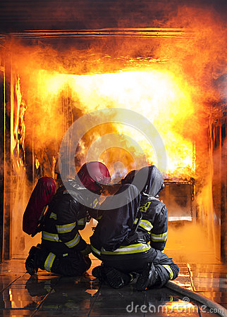 Free Firefighters Stock Image - 46775131