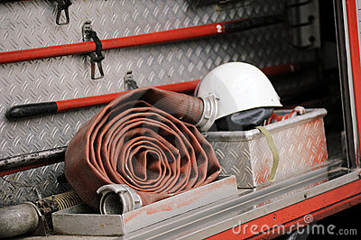 Firefighting truck equipment